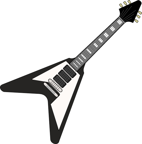 Heavy Metal clipart musical instrument Art 62 Free Image Guitar