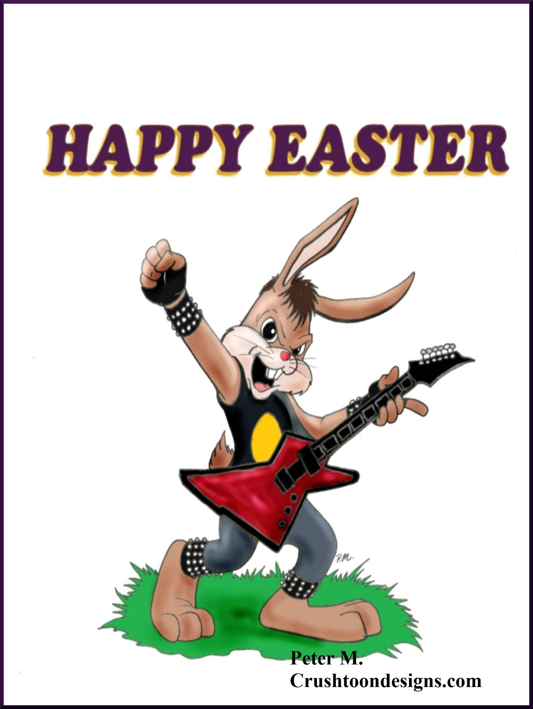 Heavy Metal clipart real Heavy Metal cafepress CrushToonDesigns Bunny