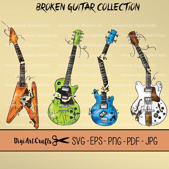 Heavy Metal clipart rocker Music from Heavy Guitar Rock