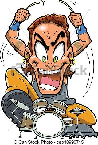 Heavy Metal clipart rocker Man a Heavy Heavy is