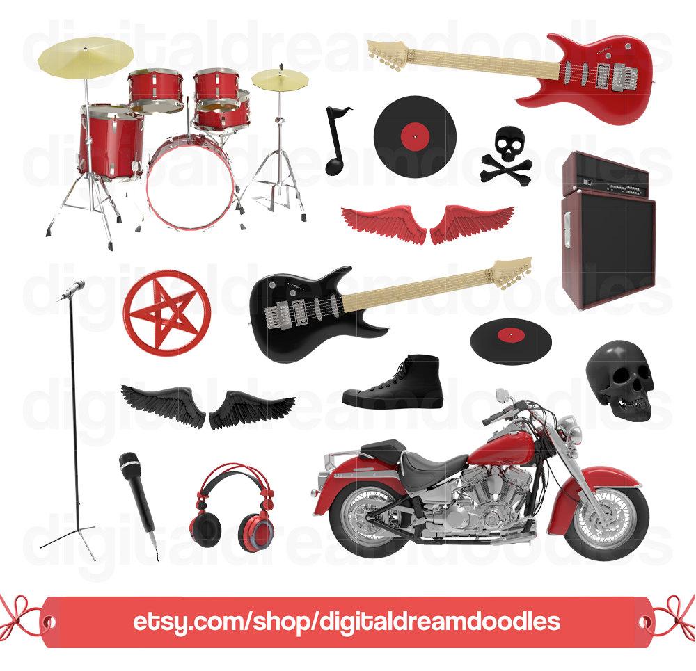 Heavy Metal clipart rocker Roll Rock is file Clipart