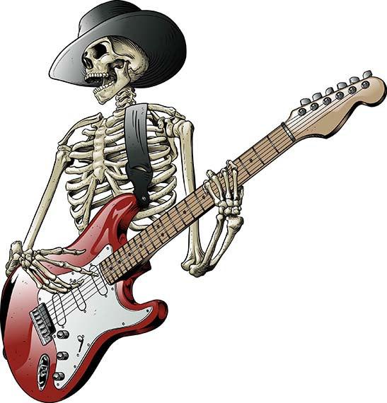 Grateful grateful dead  skeleton