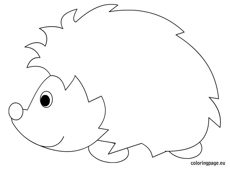 Hedgehog clipart urchin Pinterest Printable Hedgehog Hedgehog sheet
