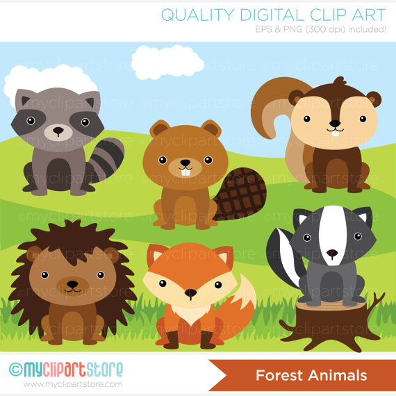 Hedgehog clipart forest animal Download) from squirrel Clip Animals