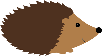 Hedgehog clipart urchin She the her and wanted