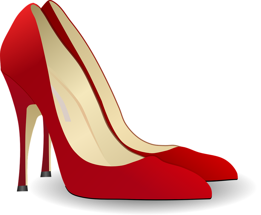 Heels clipart animated #4