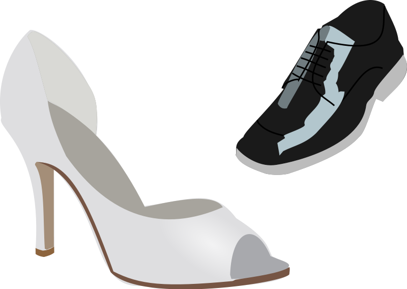 Heels clipart animated #6