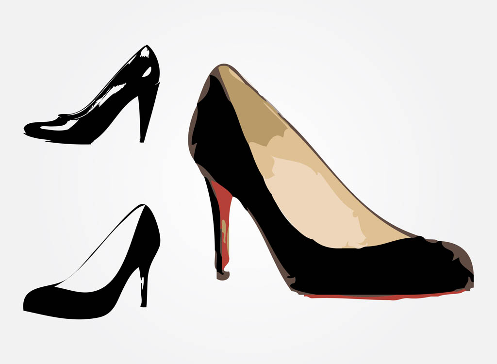 Heels clipart animated #12