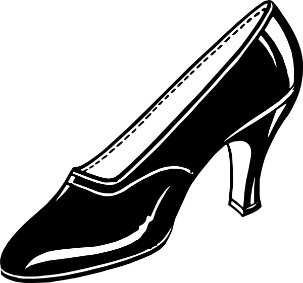 Shoe clipart one Drawing ( svg svg art