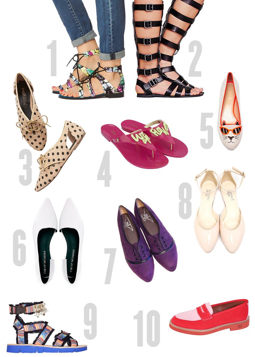Heels clipart chic Vilda a flat_shoes_collage twist 10