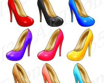 Heels clipart chic 50% Fashion 50% Pink Heels