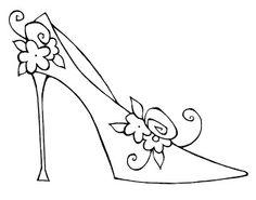 Sandal clipart cinderella #5