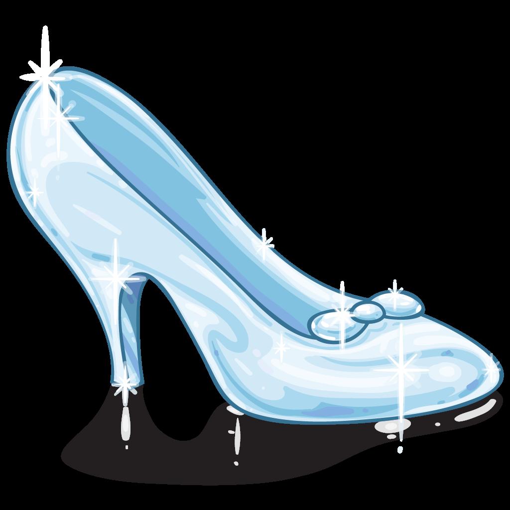 Bride clipart cinderella shoe #4