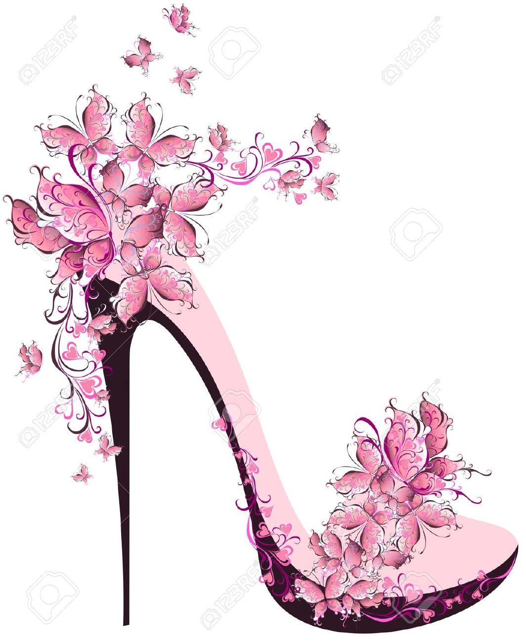 Heels clipart cute shoe Art Clipart Clipart Clipart 8267