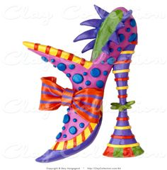 Heels clipart cute shoe  a Pink Clip Art