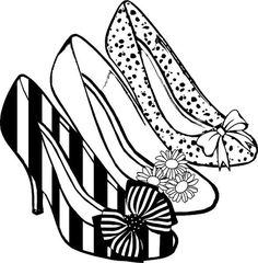 Heels clipart drawn Vector Heel Ephemeraphilia Sandal high