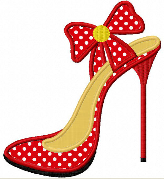 Heels clipart drawn Download Instant heels High Applique