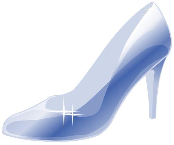 Bride clipart cinderella shoe #2