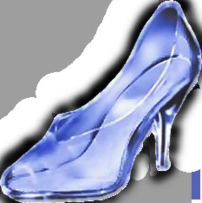 Bride clipart cinderella shoe #8