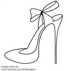 Shoe clipart high heel #11