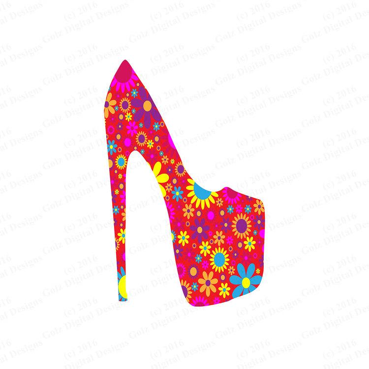 Heels clipart high heeled shoe Art Shoe High Art Heel