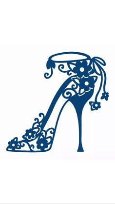 Heels clipart high heeled shoe Shoe style Pinterest Silhouette High