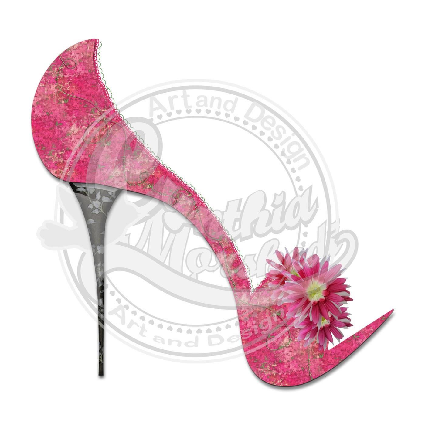 Heels clipart high heeled shoe Clipart on Heel Studio Heel