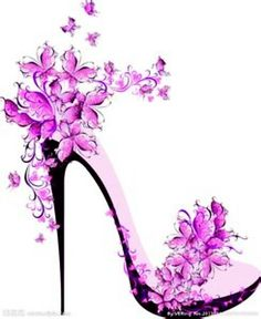 Heels clipart high heeled shoe Silhouette by amusing Viewing High
