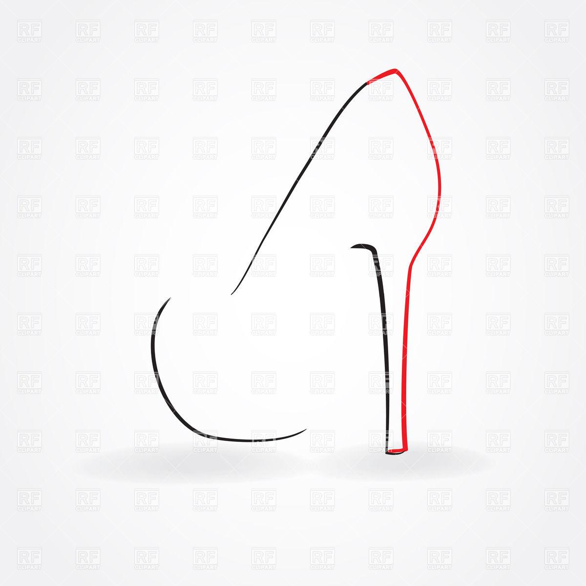 Heels clipart high heeled shoe Clipart of Heel Heel Heel