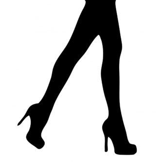 Legs clipart black high heel High Heel Heel Printable Heel