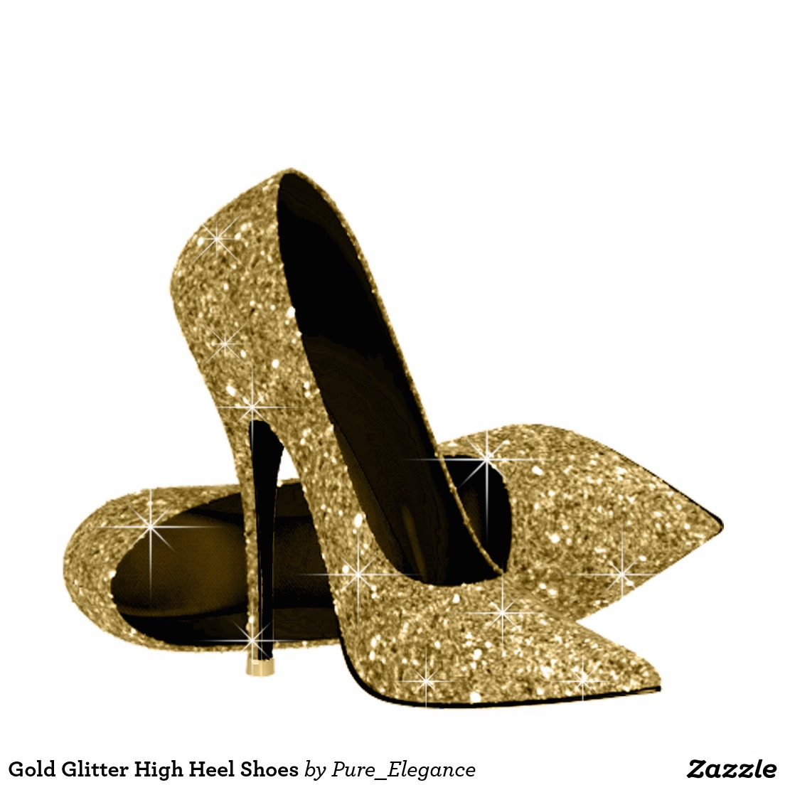 Heels clipart pair heel Gold Shoes Heeled Heel cliparts