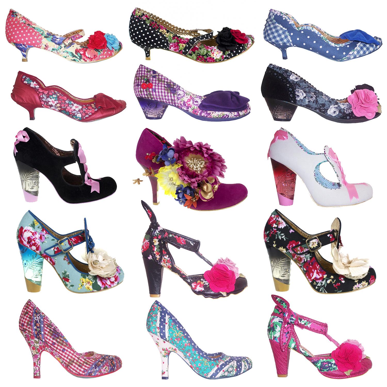 Heels clipart polka dot New Dot Floral Polka Shoes