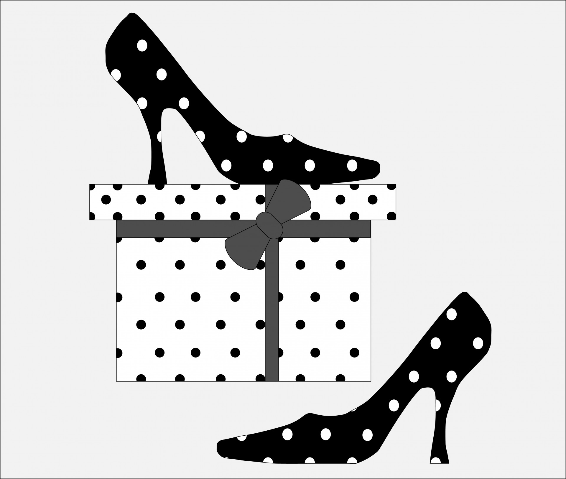 Heels clipart polka dot Images Public Domain  In