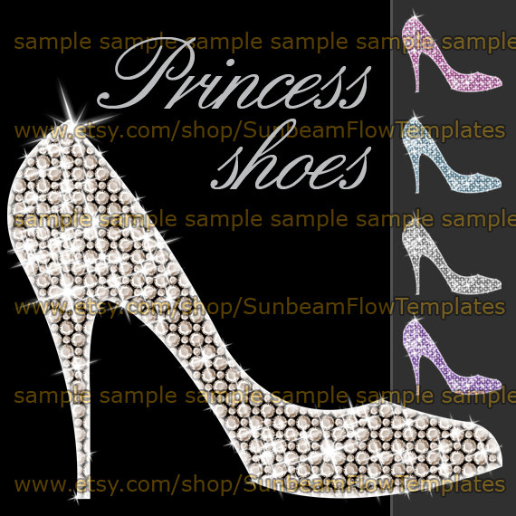 Heels clipart princess INSTANT Scrap art 01 Your