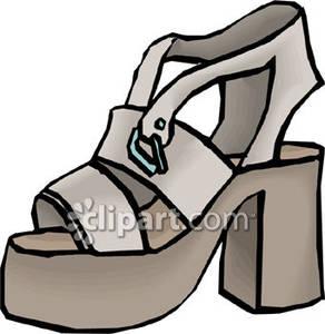 Shoe clipart sandal #5