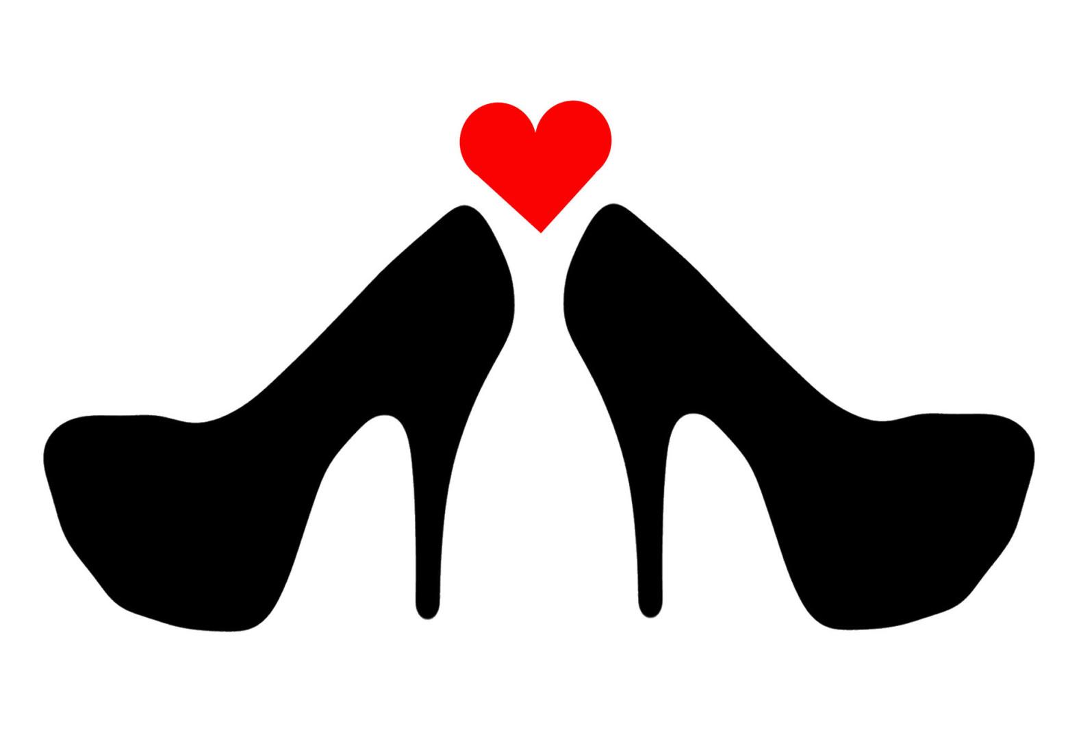 Heels clipart talon Talon Cliparts Zone amour chaussure