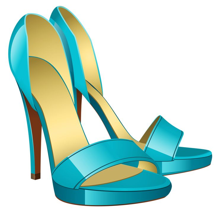 Heels clipart teal Яндекс Pinterest GIRLY/FASHION on about
