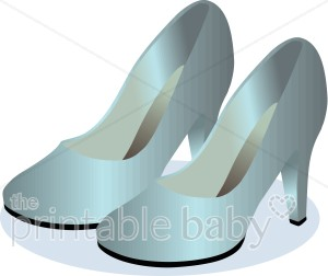 Heels clipart teal Blue & Clipart Clipart Daddy
