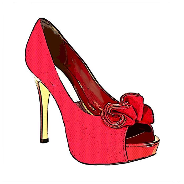 Shoe clipart high heel #9