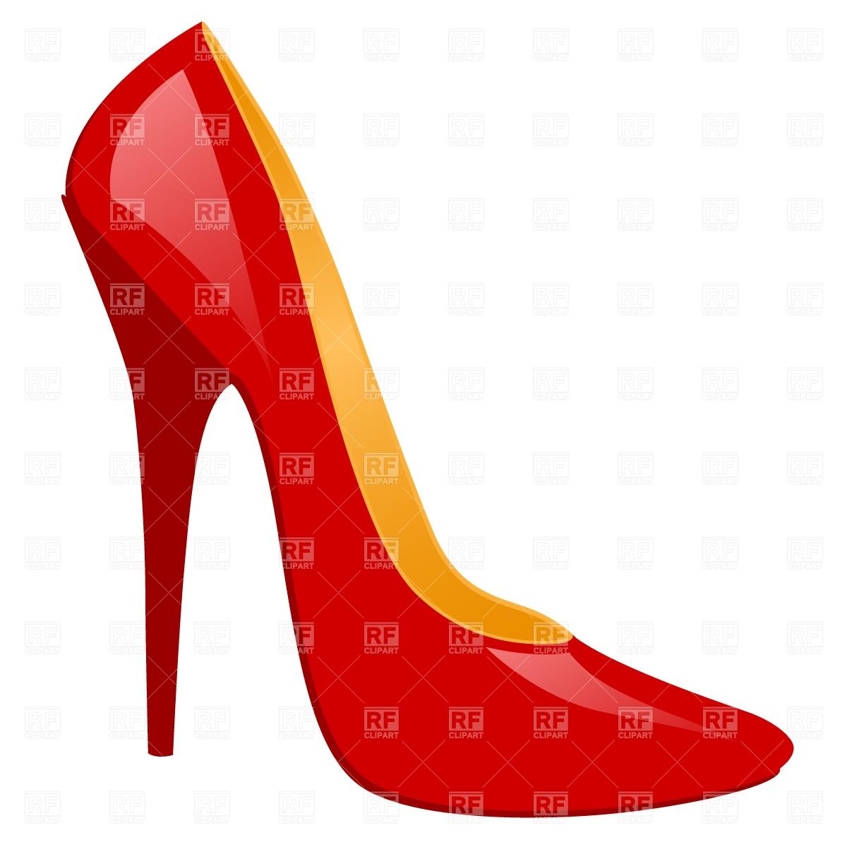Heels clipart women's shoe High Clipart art Heel #8296