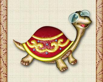 Heh clipart & Turtle Art Clipart Girls