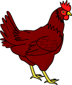 Brown clipart rooster Images free black image clipart