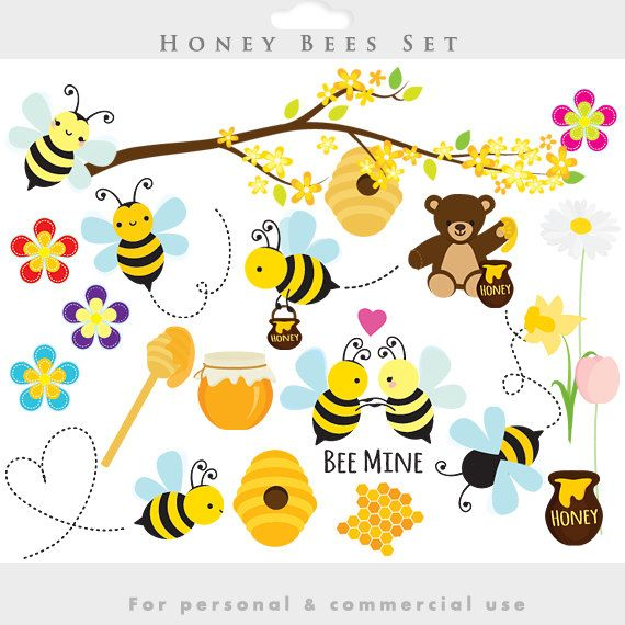 Bee clipart honey bee Abejas Bees clipart about bees