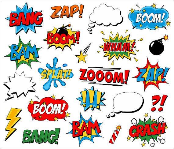 Saying clipart pop art Speech Clip Pinterest Comic Clipart