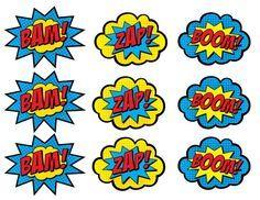 Comics clipart superhero #12