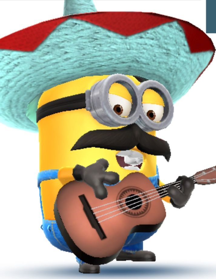 Heh clipart mariachi instrument About 137 best images Minion