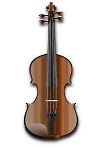 Violin clipart pleasant sounds Cartoon  Notes Violin images