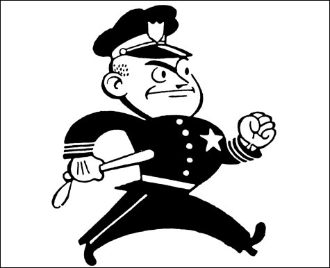 Police clipart black and white Co 2 Hartlaub Page Joe