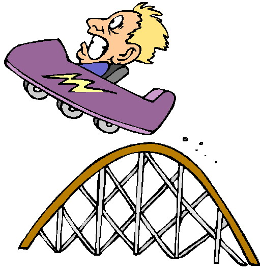 Cart clipart roller coaster (18+) Heights clip roller Fear