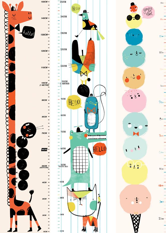 Heights clipart height chart Best by Children's Bobby charts